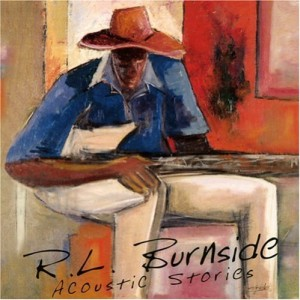 RL Burnside Acoustic Stories album cover