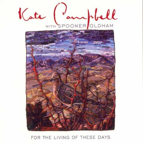 Kate Campbell For the Living of These Days Spooner Oldham album cover