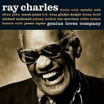 Album Cover Ray Charles Genius Loves Company Comapny
