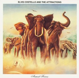 Album Cover Armed Forces Elvis Costello and the Attractions