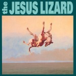 The Jesus Lizard Down album cover dog falling